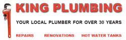 King Plumbing in Delta | Plumbing Repairs, Renovations, Hot Water Tank Replacement